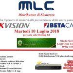 Presentazione Nuova Gamma Prodotti Hikvision e Betacavi 10 Luglio 2018 a Gioia Tauro