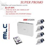 Promozione Kit IP HW Hikvision