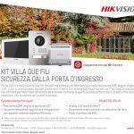 Promozione Kit Villa Due Fili - Sicurezza dalla porta di Ingresso