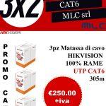 Promo Cat 6 Matassa Cavo