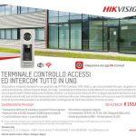 Promo Terminale Controlo Accessi e intercom